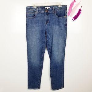 Size 10   Eileen Fisher Straight Leg Jeans